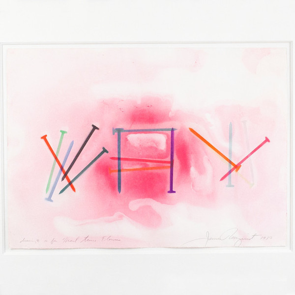 James Rosenquist, 'Drawing #10 For Heart Time Flowers', 1980, Caviar20