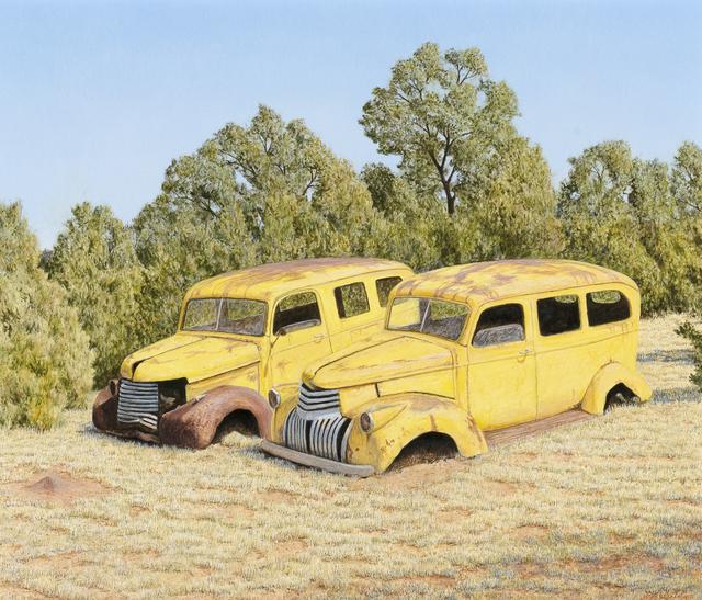 , 'Camionetas con Hormigas,' 2017, Gerald Peters Gallery Santa Fe