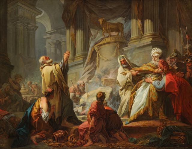 , 'Jeroboam Sacrificing to the Idols ,' 1752, American Federation of Arts