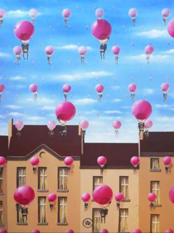 , 'Ballon Gum,' 2018, Avenue des Arts