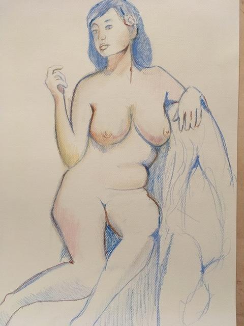 John Shelton, 'Nude Study', 2017, John Shelton American Art