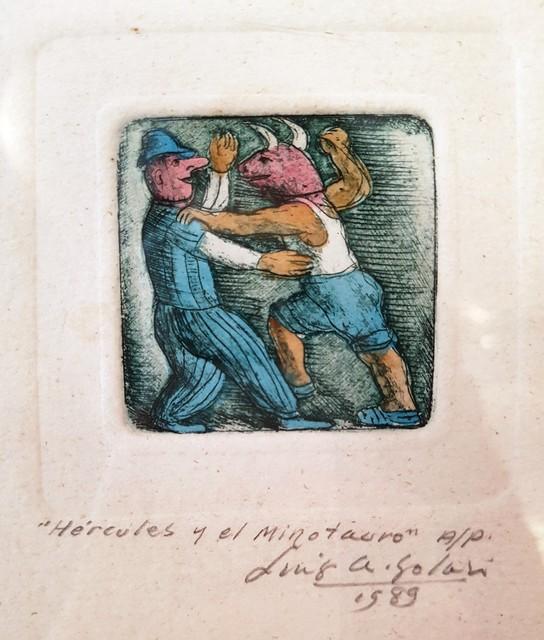 Luis Alberto Solari, 'Hercules y el Minotauro P/A', 1989, ACCS Visual Arts