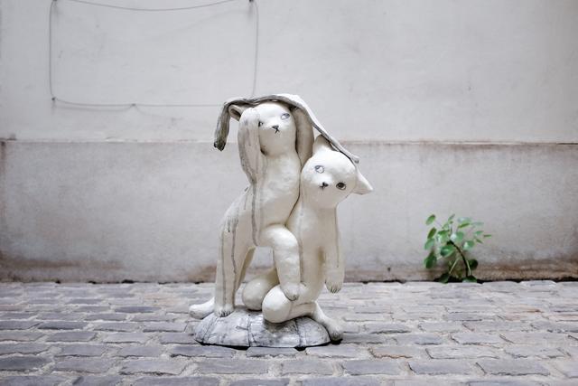 , 'Kittens in the rain,' 2018, Antonine Catzéflis