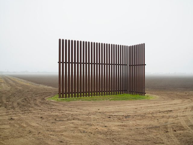 , 'Wall, Near Los Indios, Texas/El muro, al este de Nogales, Arizona ,' 2014, Crystal Bridges Museum of American Art
