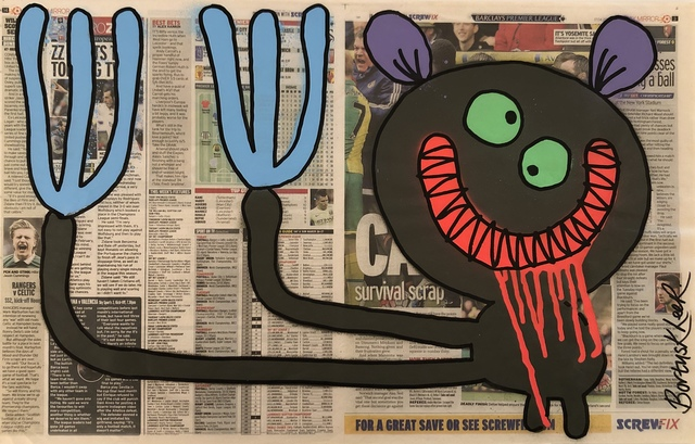 , 'Johnny - Double Tabloid,' 2016, Vintage Deluxe