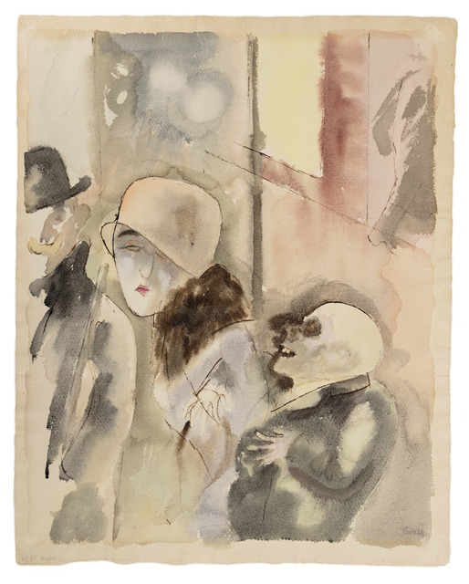 George Grosz, 'At Night', 1926, W&K - Wienerroither & Kohlbacher