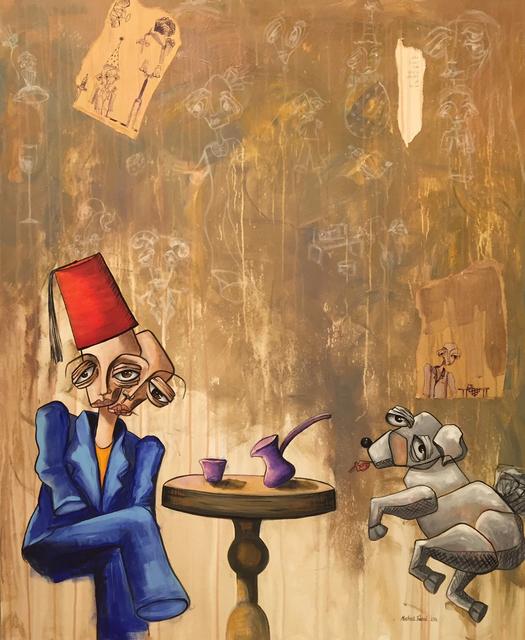 , 'Café / قهوة,' 2015, al markhiya gallery