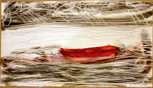 , 'Red Life Boat,' 2013, Elisa Contemporary