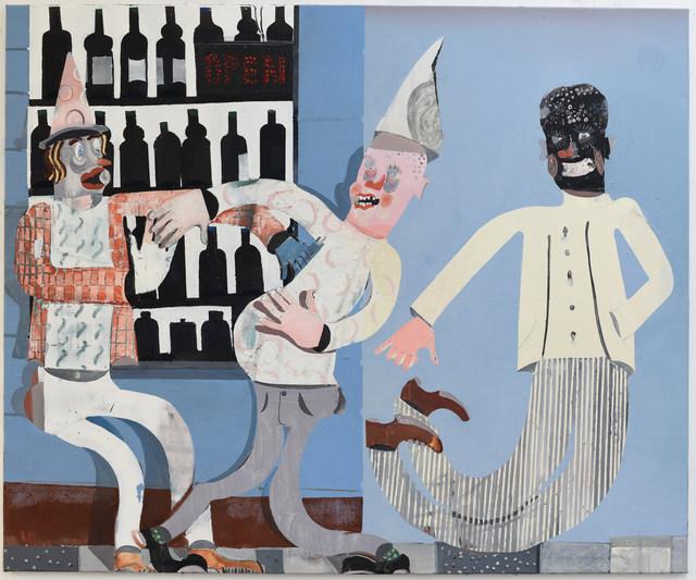 Pieter Jennes, 'My dream café', 2019, Painting, Oil on canvas, Gallery Sofie Van de Velde