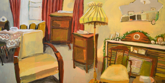 , 'The Lounge Room with Year Around Tinsel, Auburn, South Australia,' 2018, West Gallery Thebarton