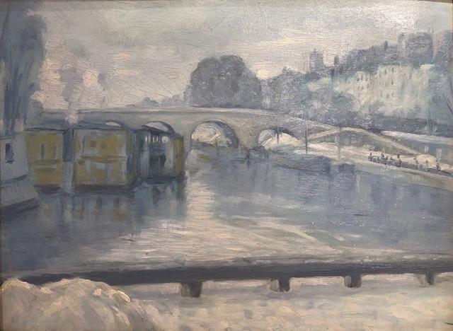 , 'Lavoirs sur la Seine,' , Susan Calloway Fine Arts
