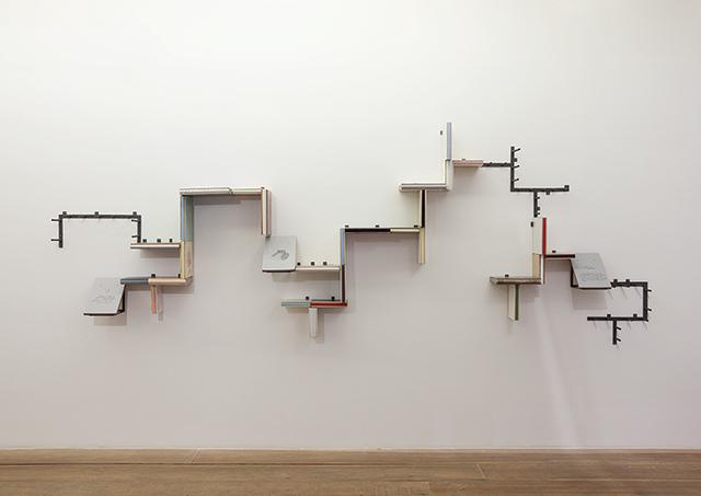 , 'Biblioteca (dentro fora),' 2014, Galeria Jaqueline Martins