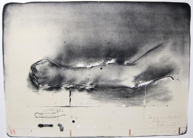 ", 'Burning Arm ""anger"",' 1989, The Art Vault"