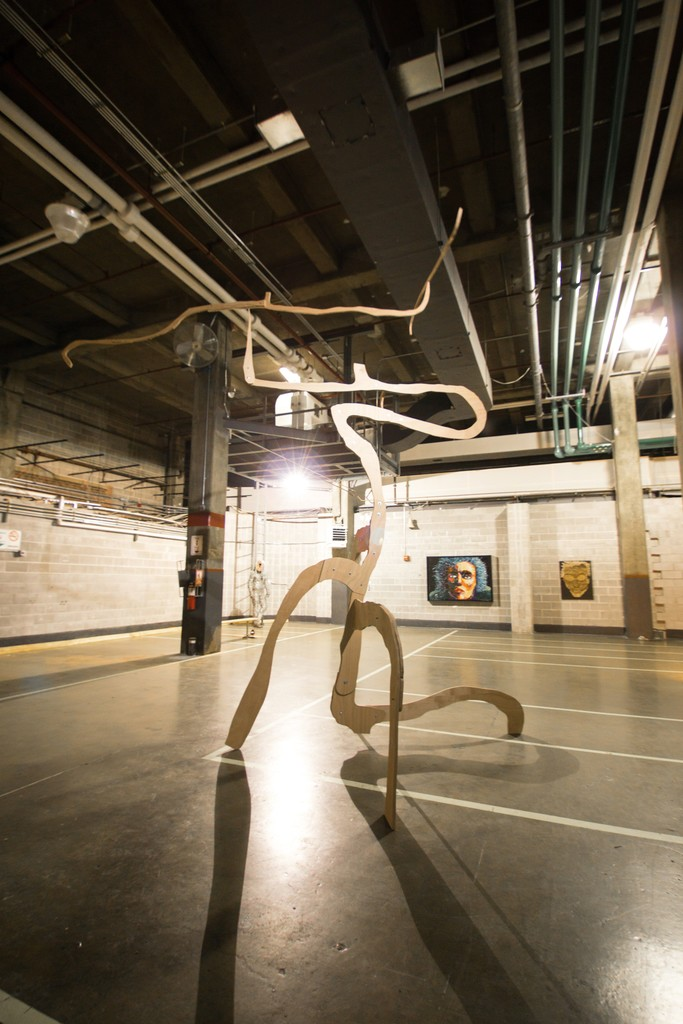 Jarrige Grand Mobile at Pfizer Building Brooklyn exhibit Repsychling. Photo: ©GarretLinn