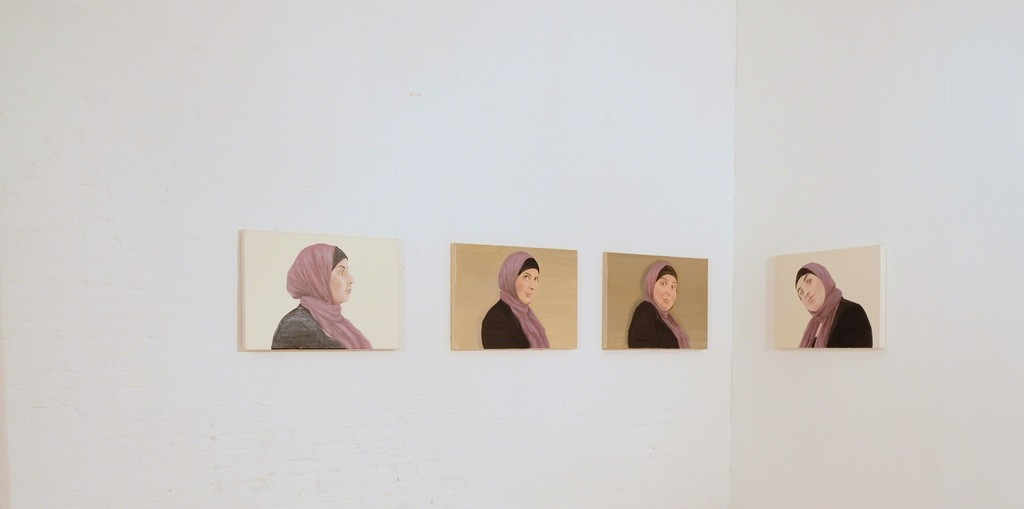 "Hibba I-IV Oil on canvas 20x24"""