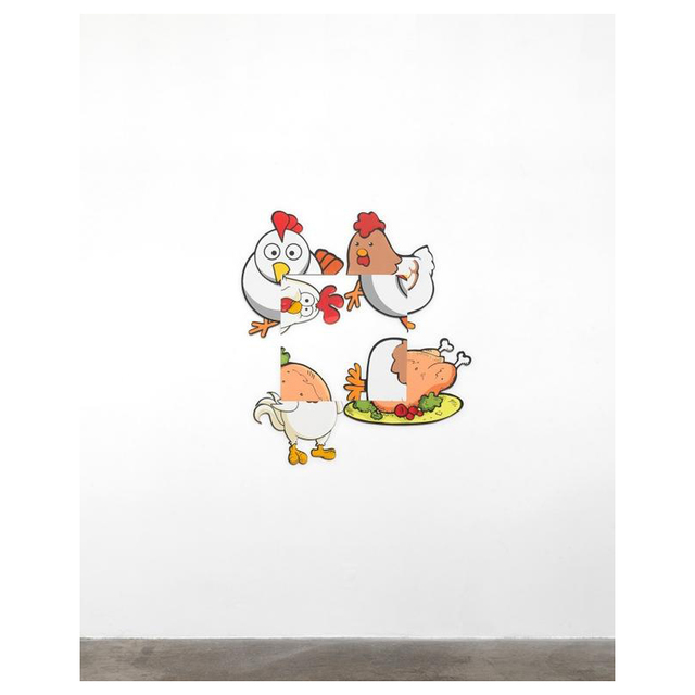 , 'Chicken Rotation,' 2016, David Benrimon Fine Art