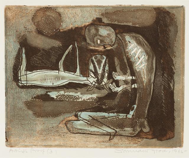 , 'Shepherd,' 1965, Grey Art Gallery