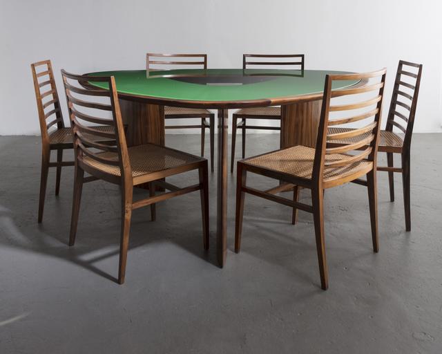 Joaquim Tenreiro, 'Iconic triangular table', 1960, R & Company