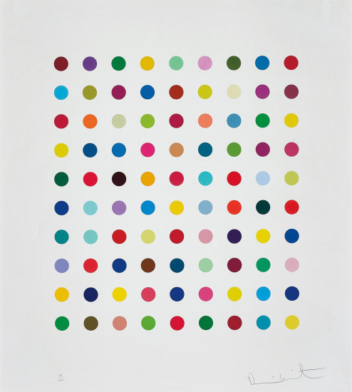 Damien Hirst, 'Lanatoside B', 2011, Pop Fine Art