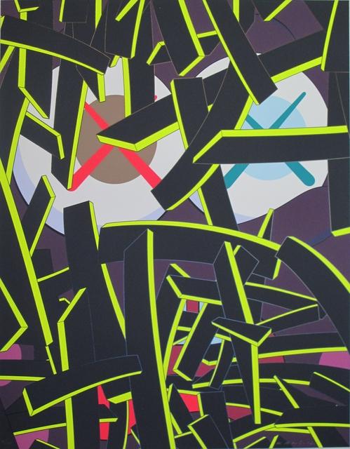 KAWS, 'Paper Smile', 2012, Print, Silkscreen on paper, Carmichael Gallery