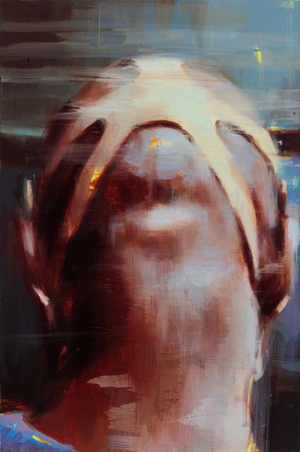 , 'Back of a Protester's Head,' 2013, Lazinc