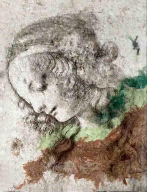 Daniel Gastaud, 'Da Vinci Girl', 2016, Eden Fine Art