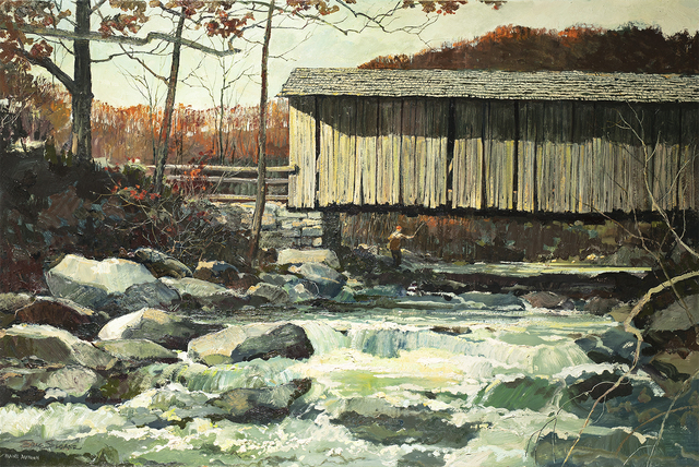 Eric Sloane, 'Maine Autumn', Questroyal Fine Art