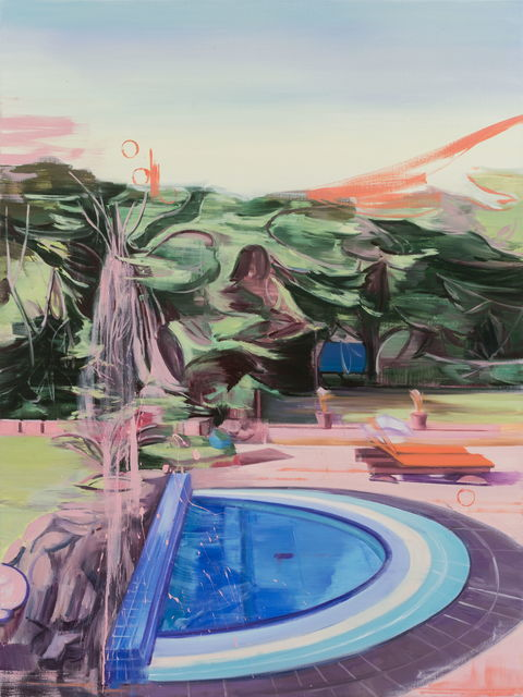 Lei Qi, 'A swimming pool', 2018, Matthew Liu Fine Arts