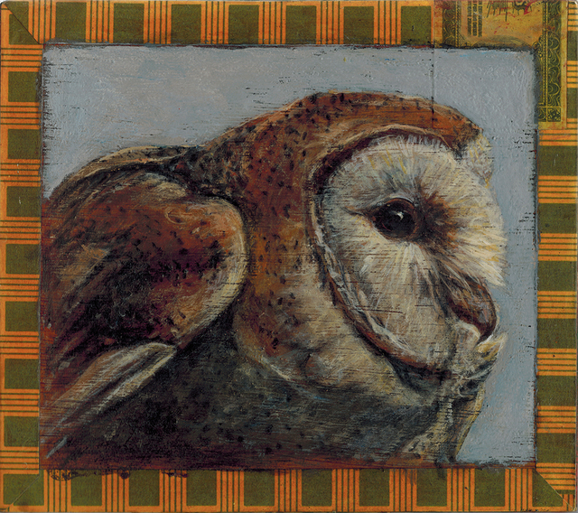 , 'Barn Owl,' 2016, Paul Thiebaud Gallery