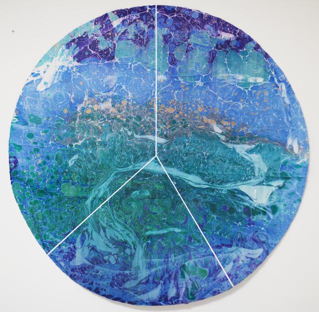 , 'Hydronim #10 , Parana River (Argentina 41%, Brazil 35%, Paraguay 24%),' 2019, NG Art Gallery