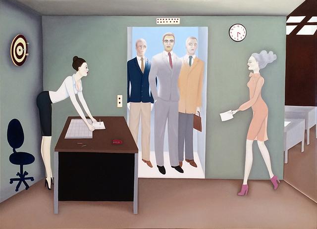 Elizabeth Fox, '4:30, Friday', 2011, Dolby Chadwick Gallery