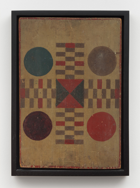 , 'Parcheesi Variation Game Board ,' Late 19th -early 20th century, Ricco/Maresca Gallery