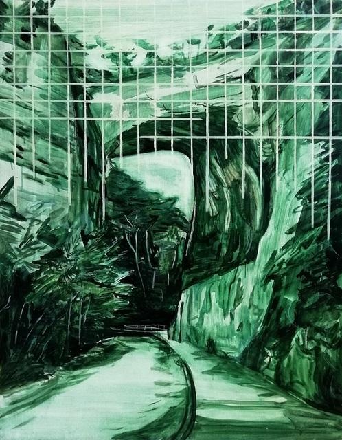 , 'Green Grid,' 2018, Fiumano Clase