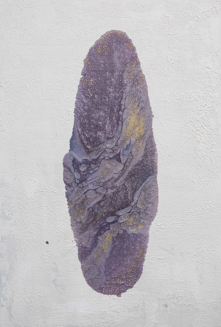 , 'Purpurite,' 2015, al markhiya gallery