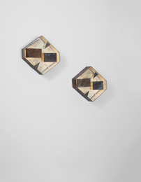 Gio Ponti, 'Pair of wall lights,' ca. 1957, Phillips: Design