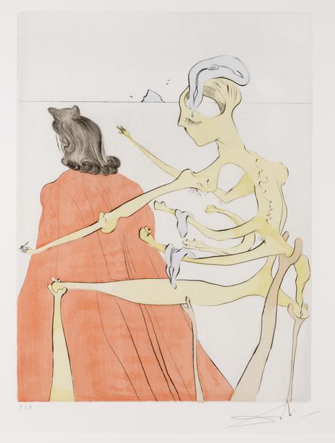Salvador Dalí, 'Le Dos Divin de Gala from Apres 50 Ans du Surrealisme', Print, Drypoint, Dallas Museum of Art