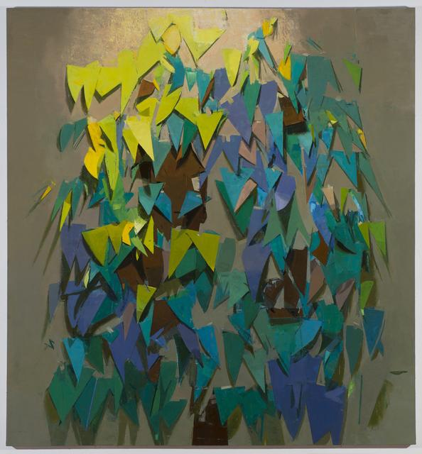 , 'paper tree,' 2013, Freight + Volume