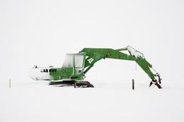 , 'Excavator, On the Road,' 2011, Robert Mann Gallery