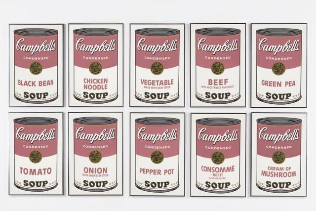 Andy Warhol, 'Campbell's Soup I, F&S II 44-53', 1968, Print, Screenprint in colors on wove paper, Fine Art Mia