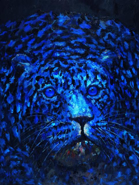 , 'One Leopard,' 2017, Lorenzelli arte