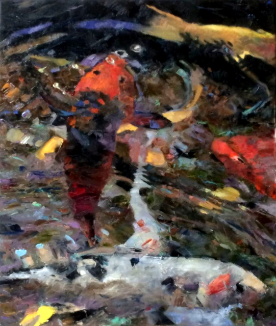 , 'Koi Colors,' , Beverly McNeil Gallery