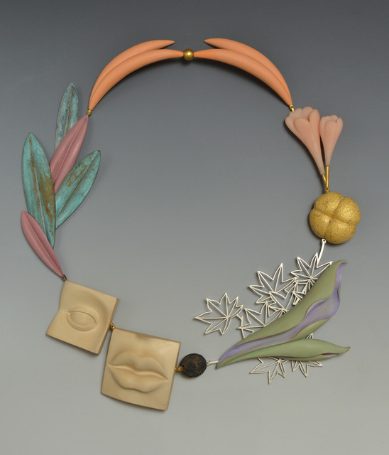 ", '""Rinpa Maple"" necklace,' 2013, Gallery Loupe"