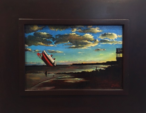 , 'Incident at the Harbor,' 2017, AFA Gallery
