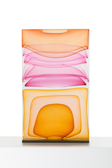 , 'Infusion Block in Amber, Rose and Orange,' 2015, METHOD & CONCEPT