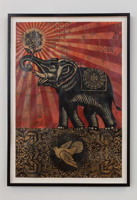 Shepard Fairey, 'Peace Elephant', 2008, David B. Smith Gallery