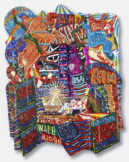 , 'American Circus,' 2019, Luis De Jesus Los Angeles