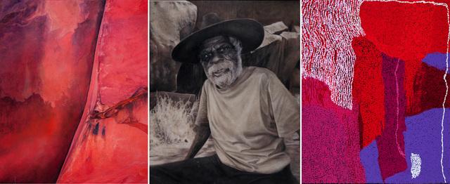 , 'Yannima Tommy Watson Triptych,' 2016, Nanda Hobbs Contemporary