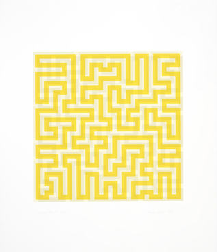 , 'Yellow Meander,' 1970, Alan Cristea Gallery