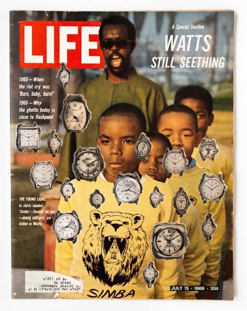 , 'Cutout No. 36 (July 15, 1966),' 2018, Luis De Jesus Los Angeles
