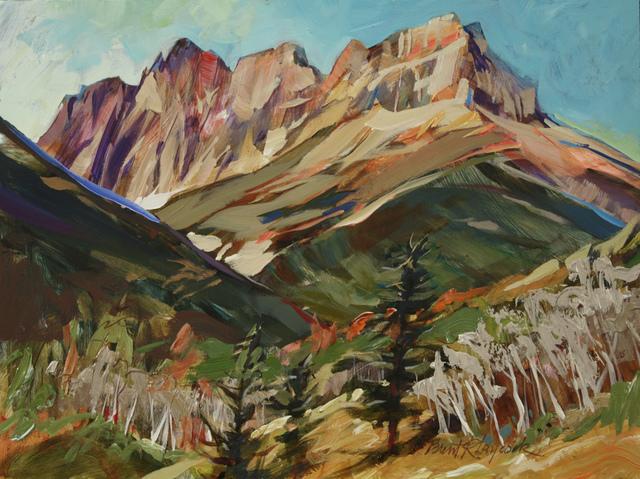 , 'Blackiston Peaks,' 2016, Wallace Galleries
